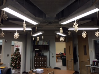 Christmas is Here. Right Here. In this School.