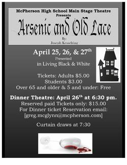 MHS Theater Takes on  Arsenic and Old Lace