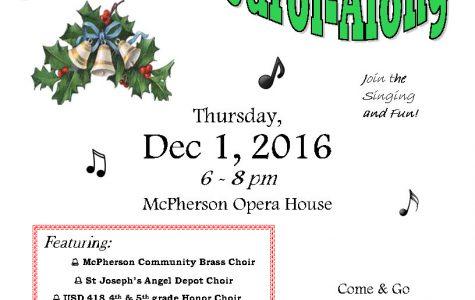 McPherson County's 38th Annual Carol-Along