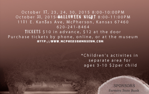 "McPherson Museum is Hosting, ""The Haunt"""