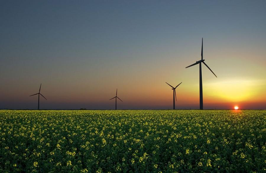 Solar, wind, and hydropower energy are unlimited sources that don't pollute the air or water.