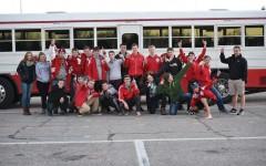 MHS boys swim team take first in Hutchinson