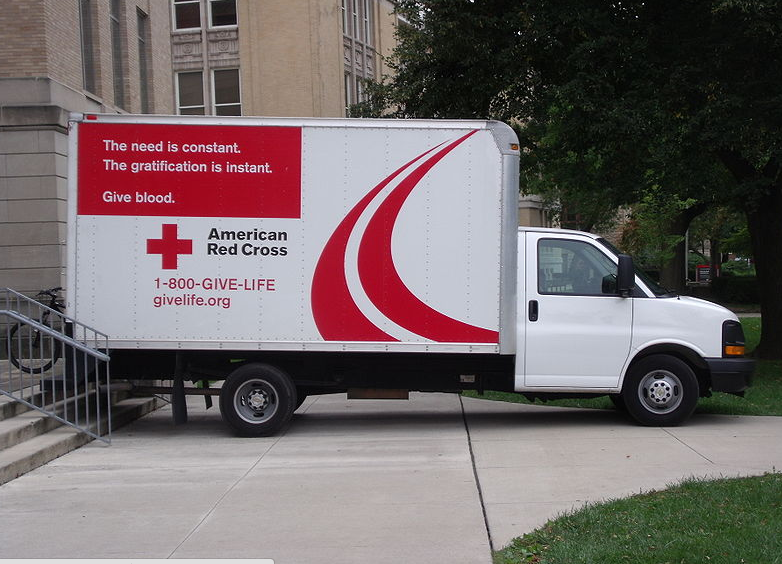 American Red Cross collects 40 percent of Americas blood supply.