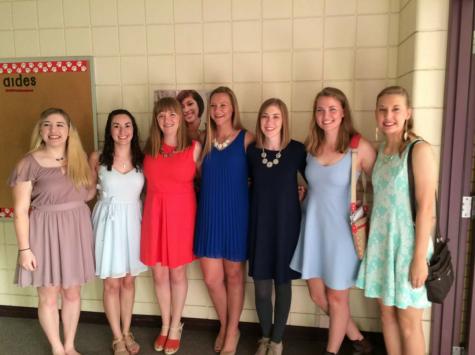 Seniors Honored at Honors Night
