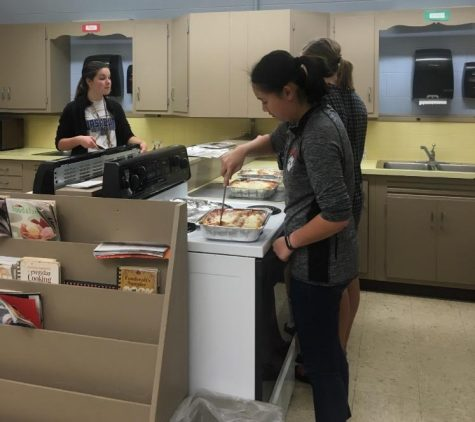 MHS Hosts Dinner For First Responders