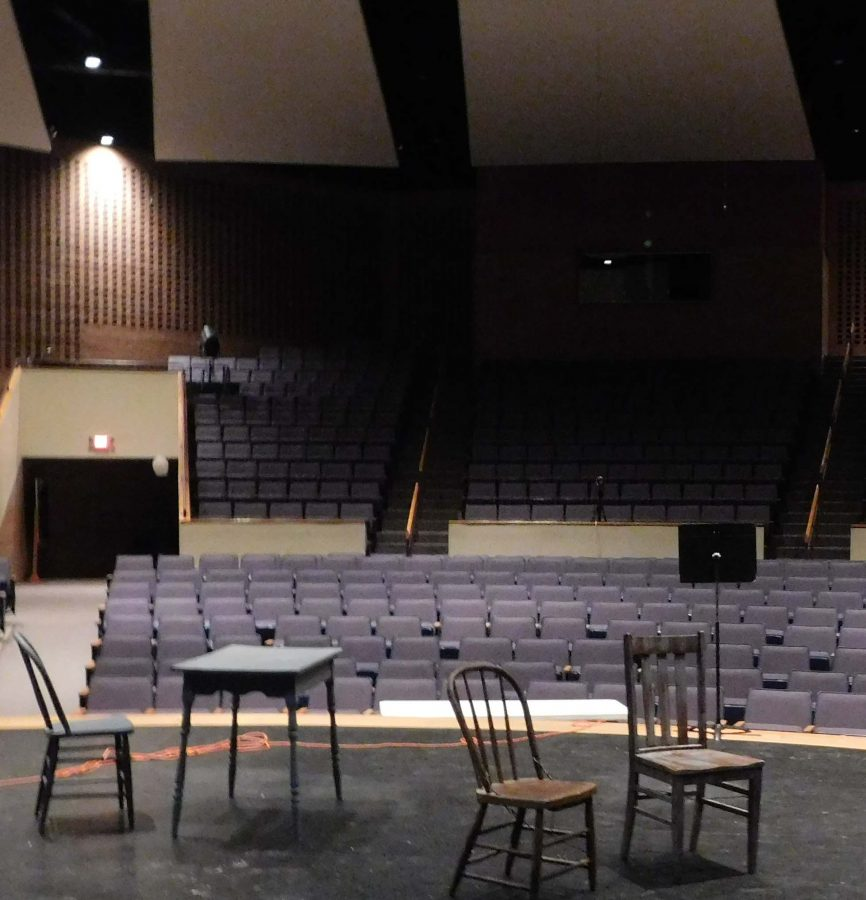 the theatre is coming to an end with one last production.