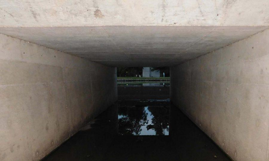 Under a bridge in Mac