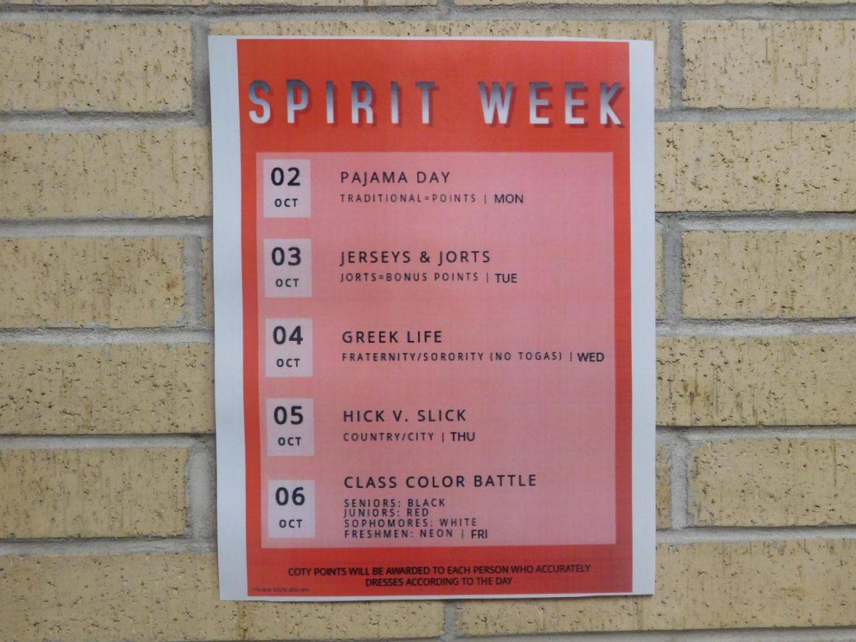 Spirit Week Themes