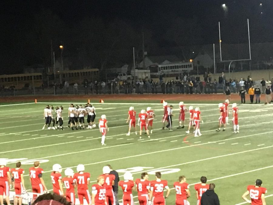 One of the plays from the Nov. 7th Football game