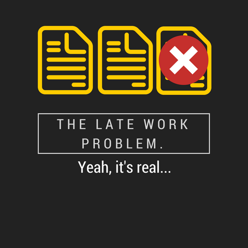 The Late Work Problem