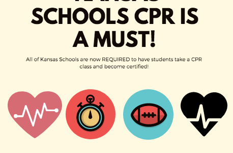 Kansas Schools Make CPR Classes A Must
