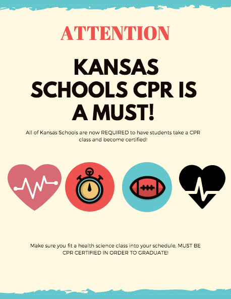 Kansas Schools CPR is a must!