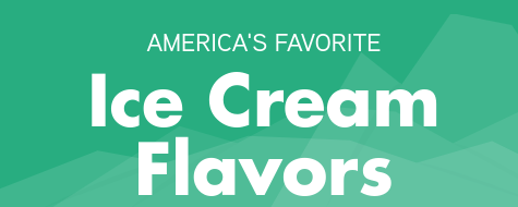 America's Favorite Ice Cream Flavors