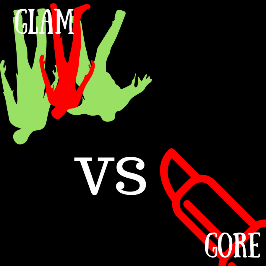 Makeup%3A+The+Glam+vs+The+Gore