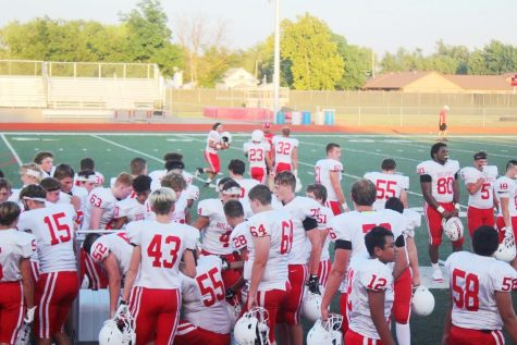 JV and Freshman Football Teams Break in the Field with First Games of the Season