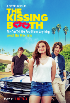 The Kissing Booth cover.
