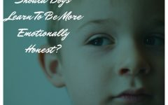 Should Boys Be Raised To Be More Emotionally Honest?