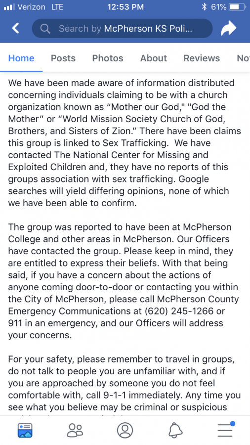 Human Sex Traffickers In McPherson???