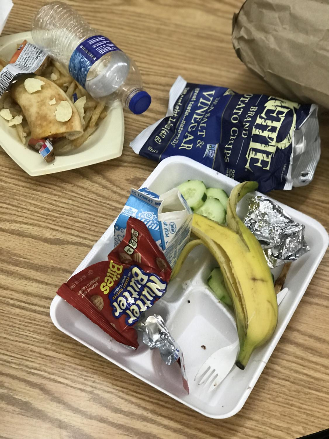 chips+with+a+bananas+and+milk+