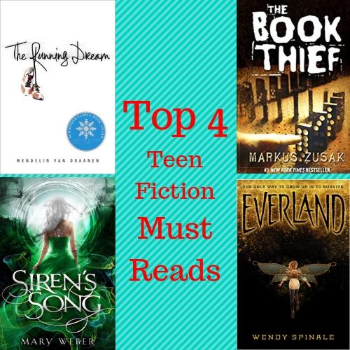 Top 4 Teen Fiction Must Reads
