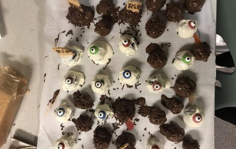 Halloween Themed Brownie Bites