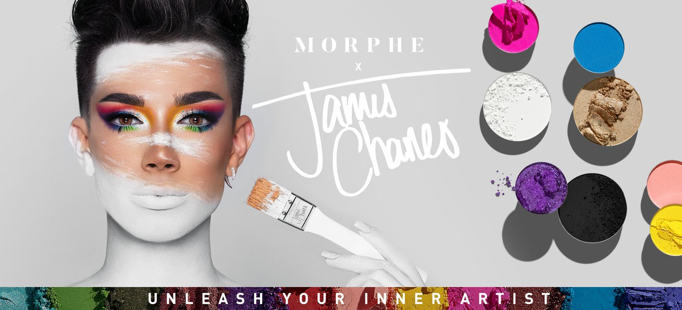 James Charles' Makeup Palette Release Photo