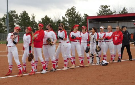 McPherson High School Home Softball Game