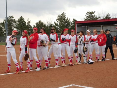 McPherson High School Home Softball Game