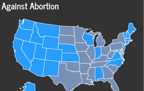 States Introducing Measures Against Abortion.