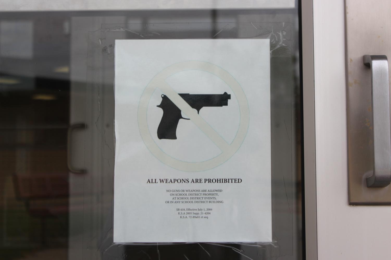 No Guns Allowed.