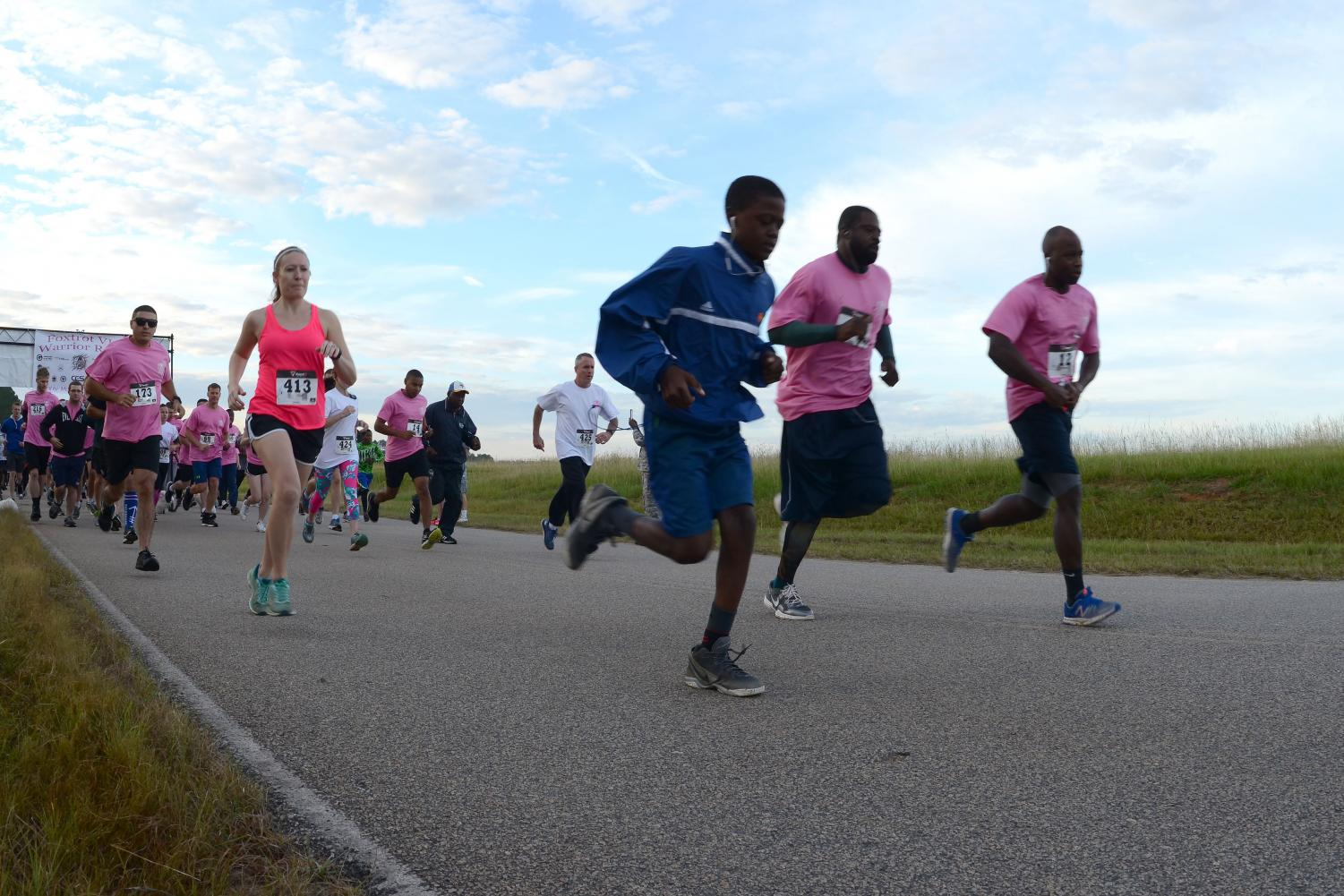 Fundraiser runs are a great way to promote or and raise money for an event or cause.
