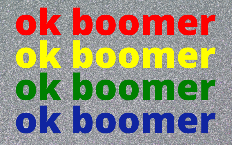 'Ok Boomer': Innocent Joke or Hateful Slur?