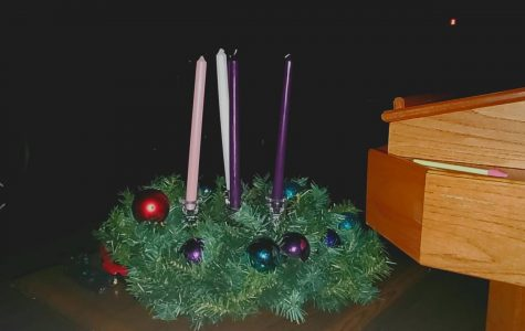 The Advent Wreath at Countryside Covenant Church.
