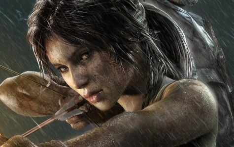 Lara Croft from the game