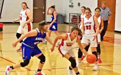 JV Girls Basketball Dominate First Game Against Trojans
