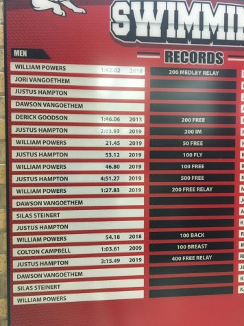 Records for Swim