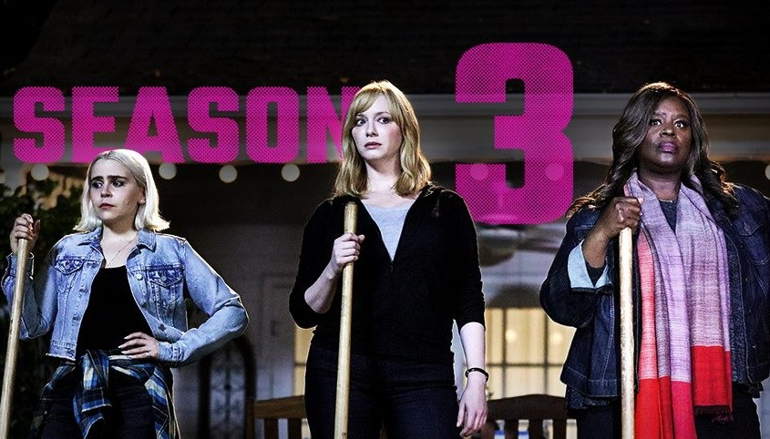 Cover of season 3 of Good Girls.